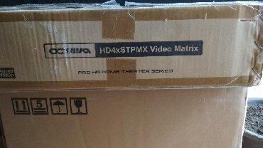 Octava Hd4xstpmx video matrix. Uzaq məsəfayə kompyuterin görüntüsünü