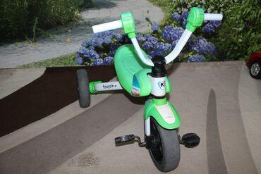 Спорт и хобби - Каинды: ПРОДАЮ велосипед в хорошем состоянии цвет зеленый, раскладной