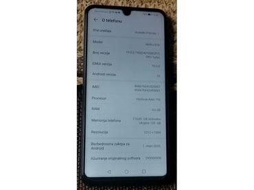 Mobilni telefoni - Novi Pazar: Huawei P30 Lite 128gb Dual - ful packprodajem telefon huawei p30 lite