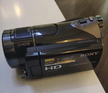 klac canta - Azərbaycan: Sony Full HD Videokamera əla vəziyyətdədir. Həm də şəkil çəkmək olur