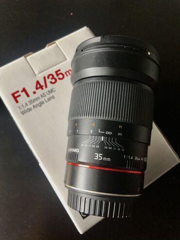 Работа на вынос - Кыргызстан: Объектив samyang 35mm f1.4 (canon ef) очень светосильная и качественна