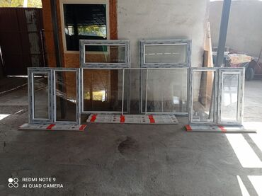 подоконники бишкек in Кыргызстан | ОКНА: Продаю окна новые Размеры маленького- ширина 0.98см Высота