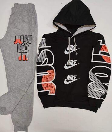 Sport i hobi - Futog: Nike i Just do it kompleticiBruseni pamukDostupna velicina 14Cena 2300