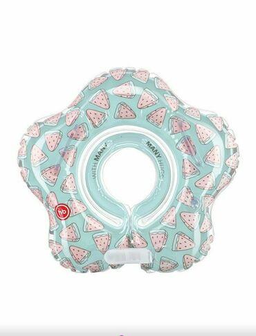 Надувной круг на шеюAquafun Watermelonпредназначен для купания детей