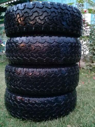 Шины, резина, колёса грязевые, горные размер 225/70/16 стояли на