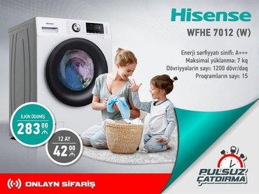 Öndən Avtomat Washing Machine Hisense 7 kq