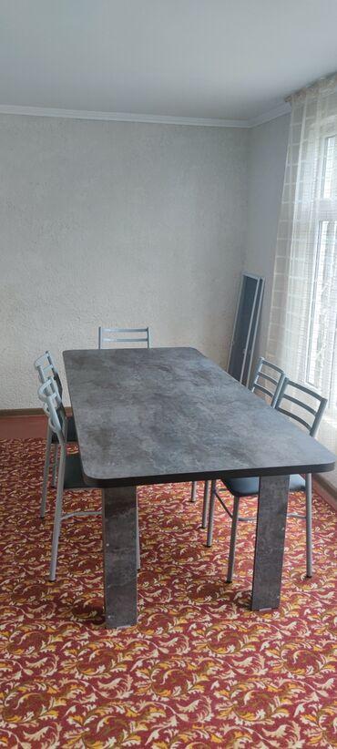 Отдых на Иссык-Куле - Бостери: 3,5 комнатная благоустроенная квартира, 1 этаж, все условия, 6 койко