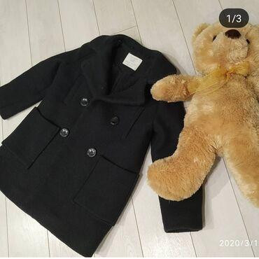 uşaq paltosu - Azərbaycan: Zara kids usaq paltosu 5-6 yaş ideal veziyyetde,alindigi kimidir.ici