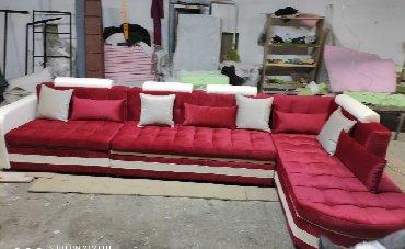 ами мебель кухонный угловой диван николетти в Кыргызстан: Угловой диван Размер : 3 × 2 Ткань: Турция Механизм Россия Цена 60 000