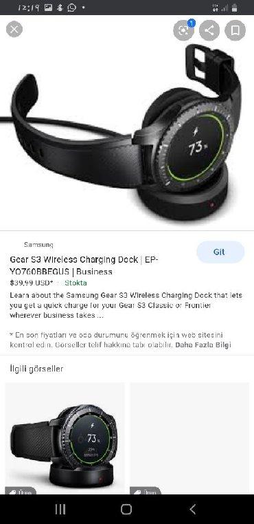 Elektronika Göygölda: Samsung gear s 3 frontiline akıllı saat heç plastation 4 və ya