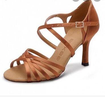 Туфли для танцев, новые, очень удобные и мягкие. 37 размер, высота каб