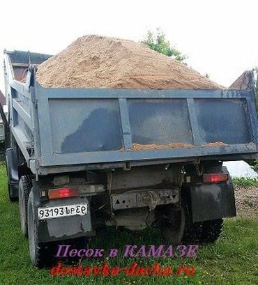 Авто услуги - Сокулук: Услиги Камаза, Зила по сокулукскому району гравии, песок щебень