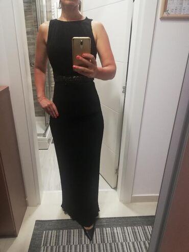 Duga leprsava haljina - Crvenka: AKCIJAAA P&S duga haljina. Idealna za mature, proslave, koktele