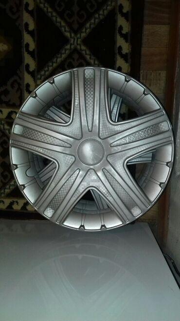 колпак на диски в Кыргызстан: Продаю колпаки 15 размер покупал недавно, ездил всего неделю и снял