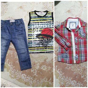Продаются джинсовые штанишки на весну-осень на 1,5 - 2,5 годика в иде