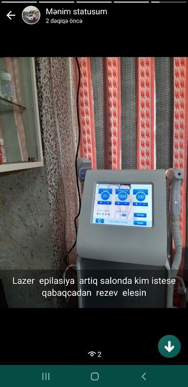 Diod lazer aparati satilir kreditlede verilir pul lazim oldugu