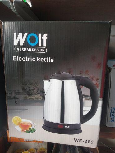 elektrikli samakat - Azərbaycan: Wolf elektrikli çaynik