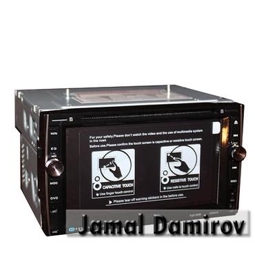 weier monitor - Azərbaycan: 2-din universal DVD-monitor A03.  Универсальный DVD-монитор 2-din A03