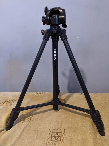 Фото видеокамера - Кыргызстан: Продаю штатив Sony VCT-R640ОписаниеШтатив для фото- или видеокамеры
