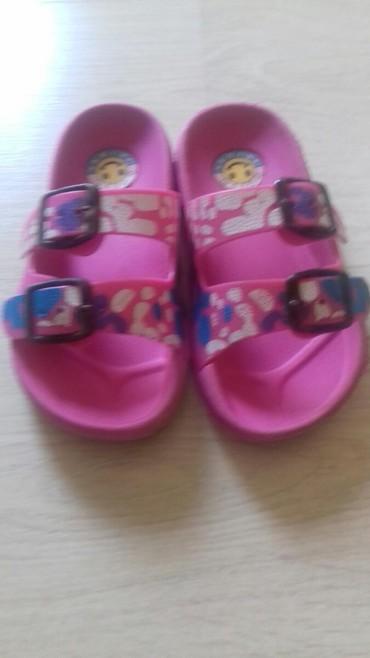 Adidas-papuce - Srbija: Decije papuce br 25. Nosene samo na moru