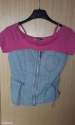 Ženska odeća | Knjazevac: Zenske majice. Sa kratkim rukavima su po 100 dinara,a na bratelama po