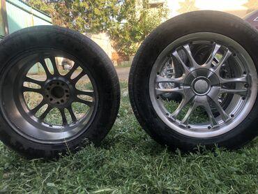 Продаю диски R17 с летними шинами  Размер 225 55 17