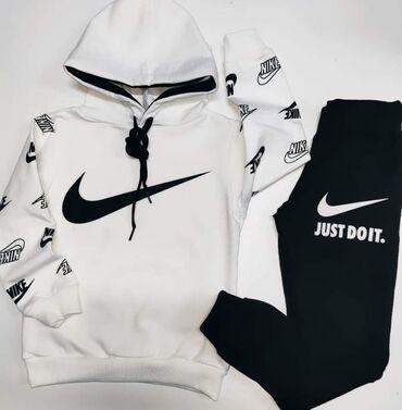 Nike kompletići,brušeni pamuk,dostupna veličina 8