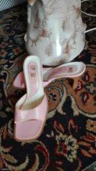 Papuce, nanule, na stiklicu, svetlo roze, broj 37, udobne, malo nosene - Nis - slika 4