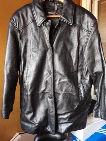 Kožna jakna kupljena u Kanadi, par puta nošena, skoro nova, crne - Belgrade