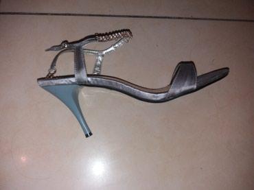 Elegantne satenske cipele preudobne 25cm gaziste - Belgrade