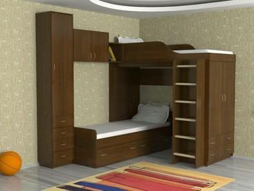 Детский  двух ярустный  спальня  в Бишкек