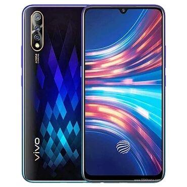 айфон 6 128 гб цена бу in Кыргызстан   APPLE IPHONE: Vivo S1   128 ГБ   Голубой Б/у   Отпечаток пальца, Две SIM карты, Face ID