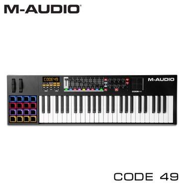Midi-клавиатура:M-Audio CODE 49 USB MIDI Black – многофункциональный