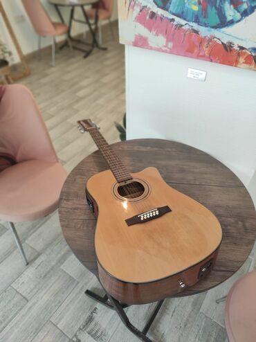 qadın üçün dəri krosovkalar - Azərbaycan: Simger 12 simli Elektro Akustik Gitar  Royal musiqi alətləri dükanında