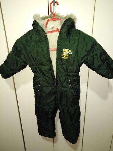 Dečija odeća i obuća - Beocin: Skafander za decake, velicina 92. U odlicnom stanju, veoma ocuvan