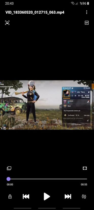 Xbox One Azərbaycanda: Pubg hesabi satilir.72lv M416 maskara4sv M762 4lv M416 gocebe 1sv  Ses