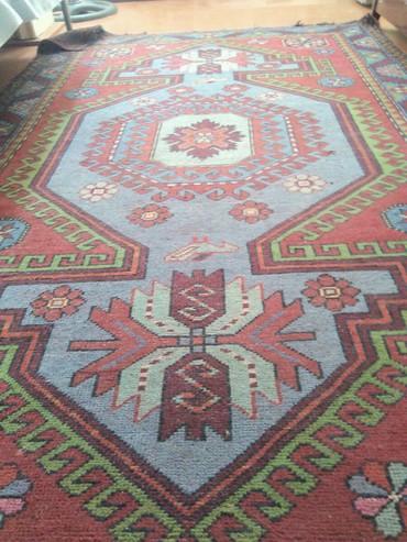 Дом и сад в Гянджа: Elde toxunma  60 ilin qədimi xalcasi 2m 46sm x 1m 56sm