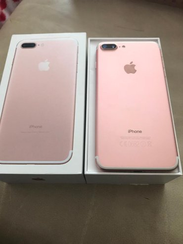 iPhone 7 Pluss 128GB Rose Gold! Moy Nome 501238800 цена 6100сом в Душанбе