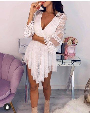 Haljine - Pirot: Cipkana haljina NOVO!*Nova Kolekcija *Dostupne boje : crna, roze