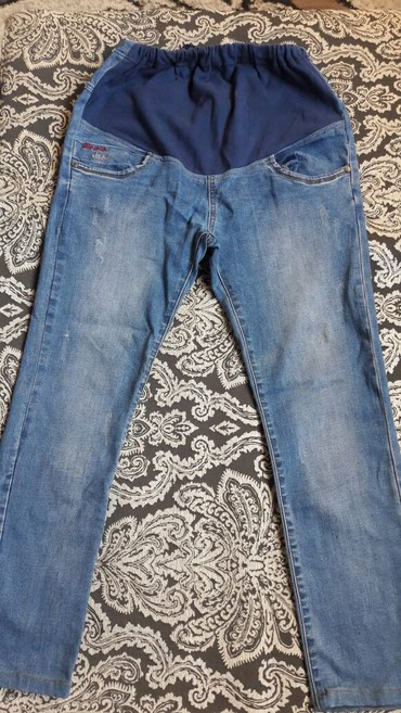 Джинсы - Кок-Ой: Джинсы и брюки для беременных, 48-50 размер, на рост 160 см, состояние