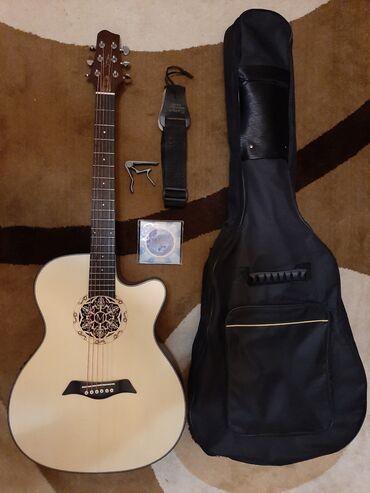 Гитары - Азербайджан: Smiger-elektro akustik gitara.Yenidir.İşlənməyib.Ekvalazer özünündür