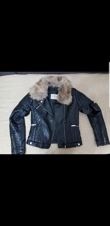 Italijanska-kozna-crna-jakna - Srbija: Crna kozna jakna  s velicina