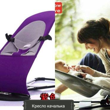 Кресло качалка с подушкойдля детейШезлонги Люльки Качели Мягкая и