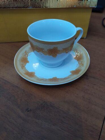 фарфоровая фигурка в Кыргызстан: Новый фарфоровый сервиз для чая и кофе.В коробке.На 6 персон