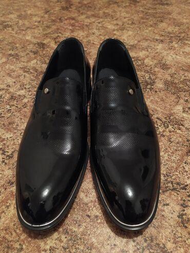 Aston martin vantage 43 v8 - Кыргызстан: Продаю лакированный туфли! Состояние идеальное. Новенький. Турецкий