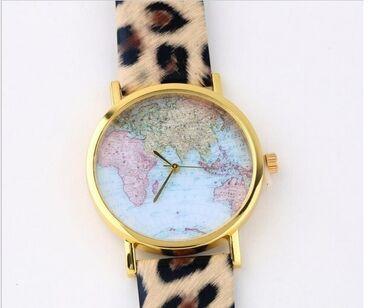 Atraktivan novi sat sa tigrastom narukvicom. Kućište sa aplikacijom