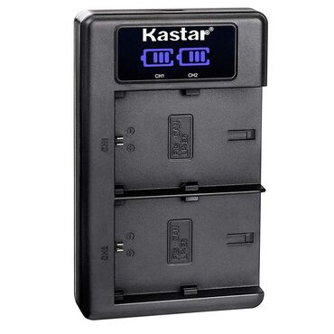 nokia e6 в Азербайджан: Kastar LCD ekranlı ikili adapter - LP-E6