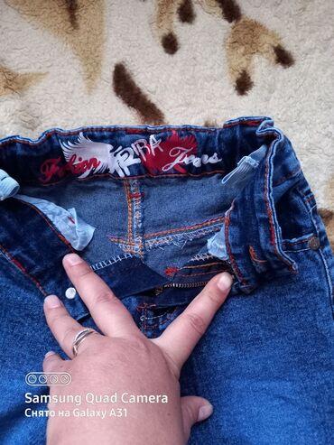 Продаю джинсы на 5-6 лет в идеальном состоянии за 300с реальному