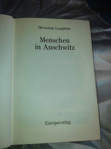 Ljudi u ausvicu , hermann langbein , knjiga je na nemackom jeziku u - Kovin
