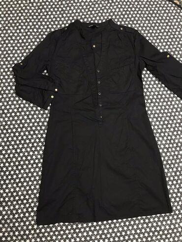 хб платье в Кыргызстан: Платье Коктейльное Mango S